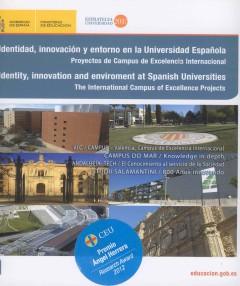 Identidad,Innovación y Entorno en la Universidad Española